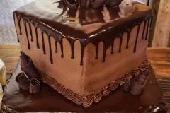 Chocolate Drip Tiered