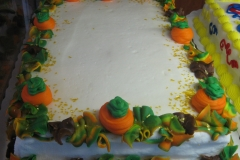 Pumpkin Case Cake