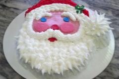 Santa FaceCake