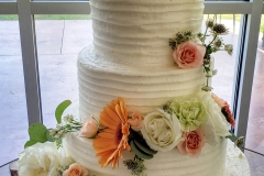 Tiered spring floral
